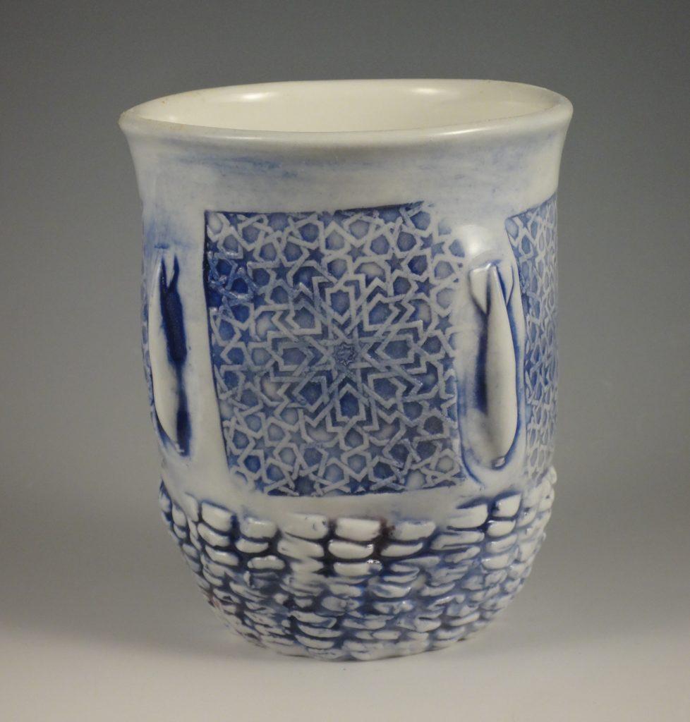 Ceramic vup by artist Ehren Tool