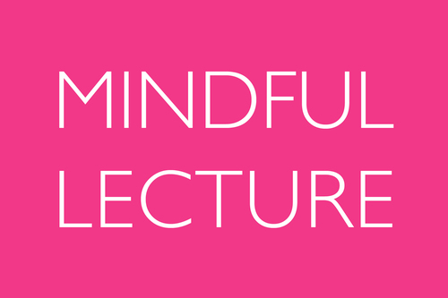 MINDFUL Lecture: Lecture: Pediatric Anxiety Disorders