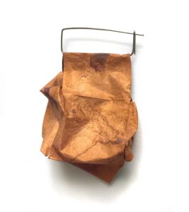 Kathleen Janvier. Squashed. Copper and Steel.