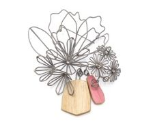 Anne Fiala. Bouquet Brooch.