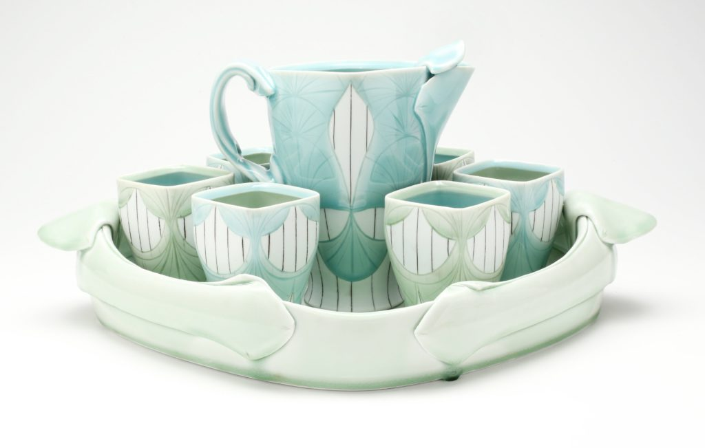 Dallas Wooten tea set