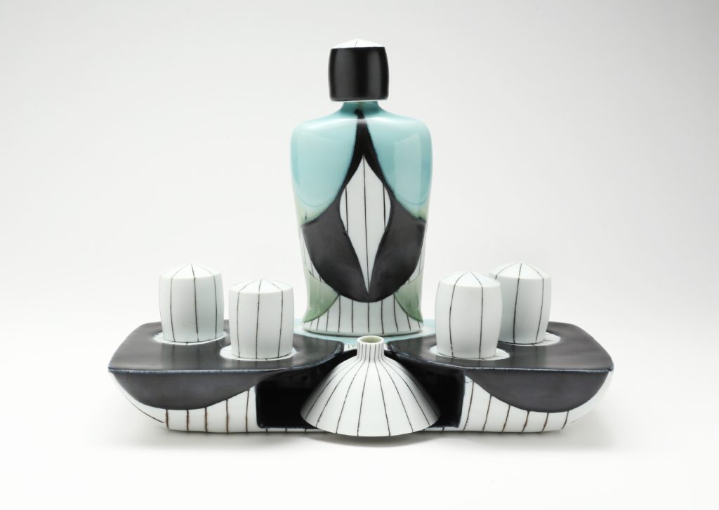Dallas Wooten sake set