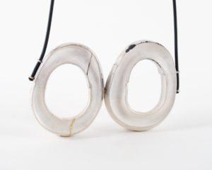 Lydia Martins silver pendant