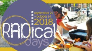 Art exhibition and papermaking at Contemporary Craft on September 22, 2018 Radical Day