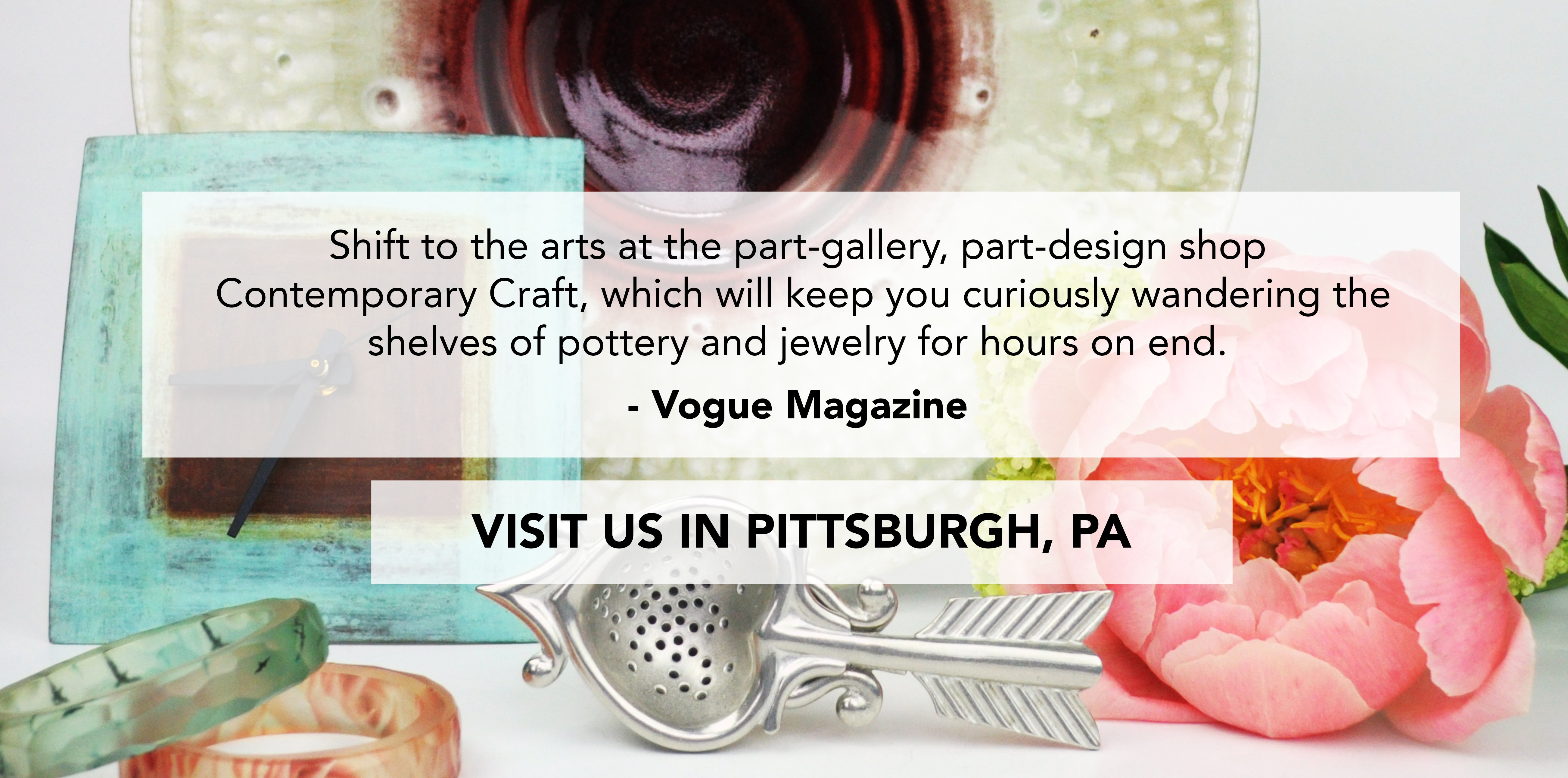 Visit Contemporary Craft in Pittsburgh, PA