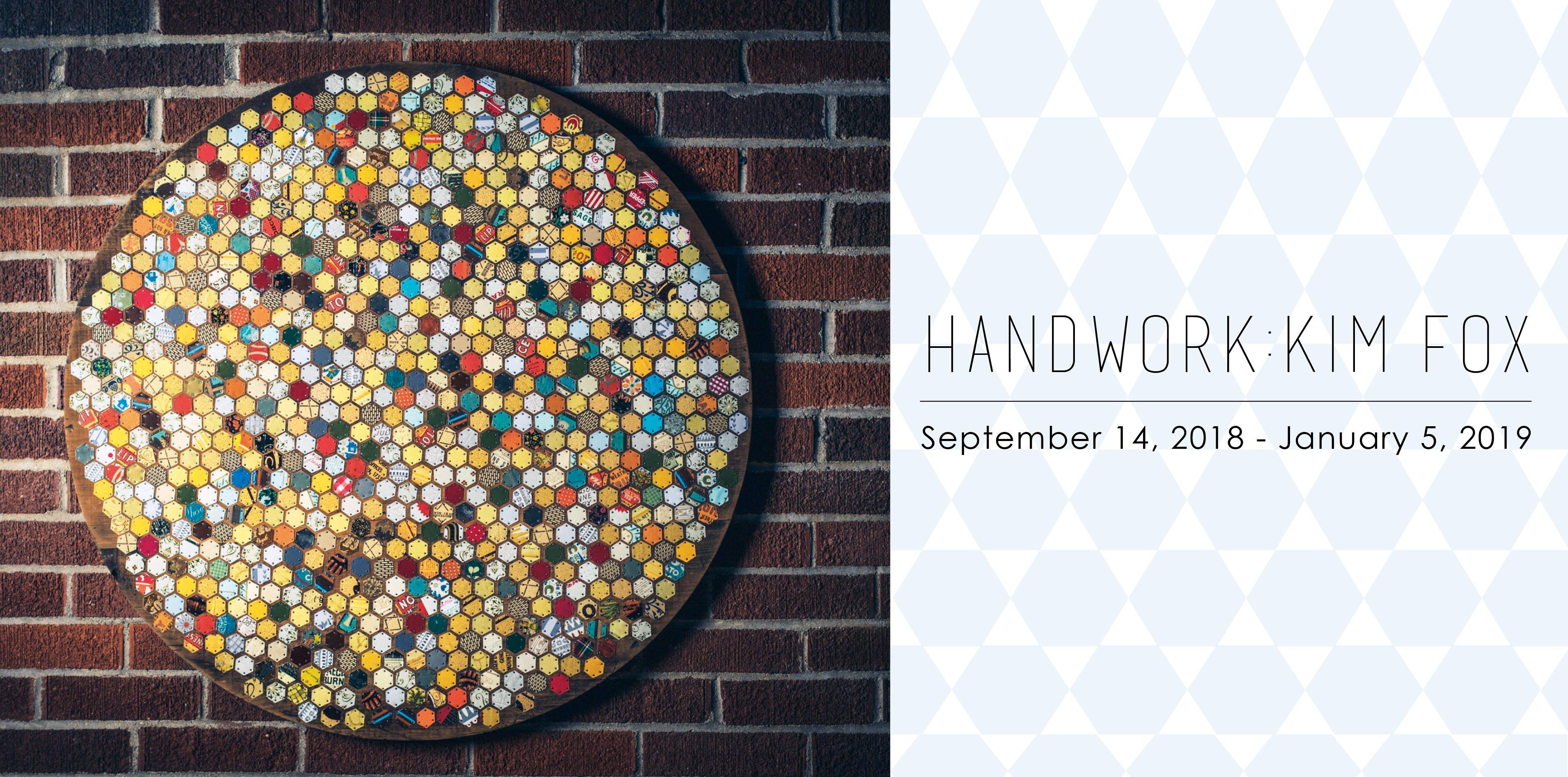 Handwork, Kim Fox exhibition