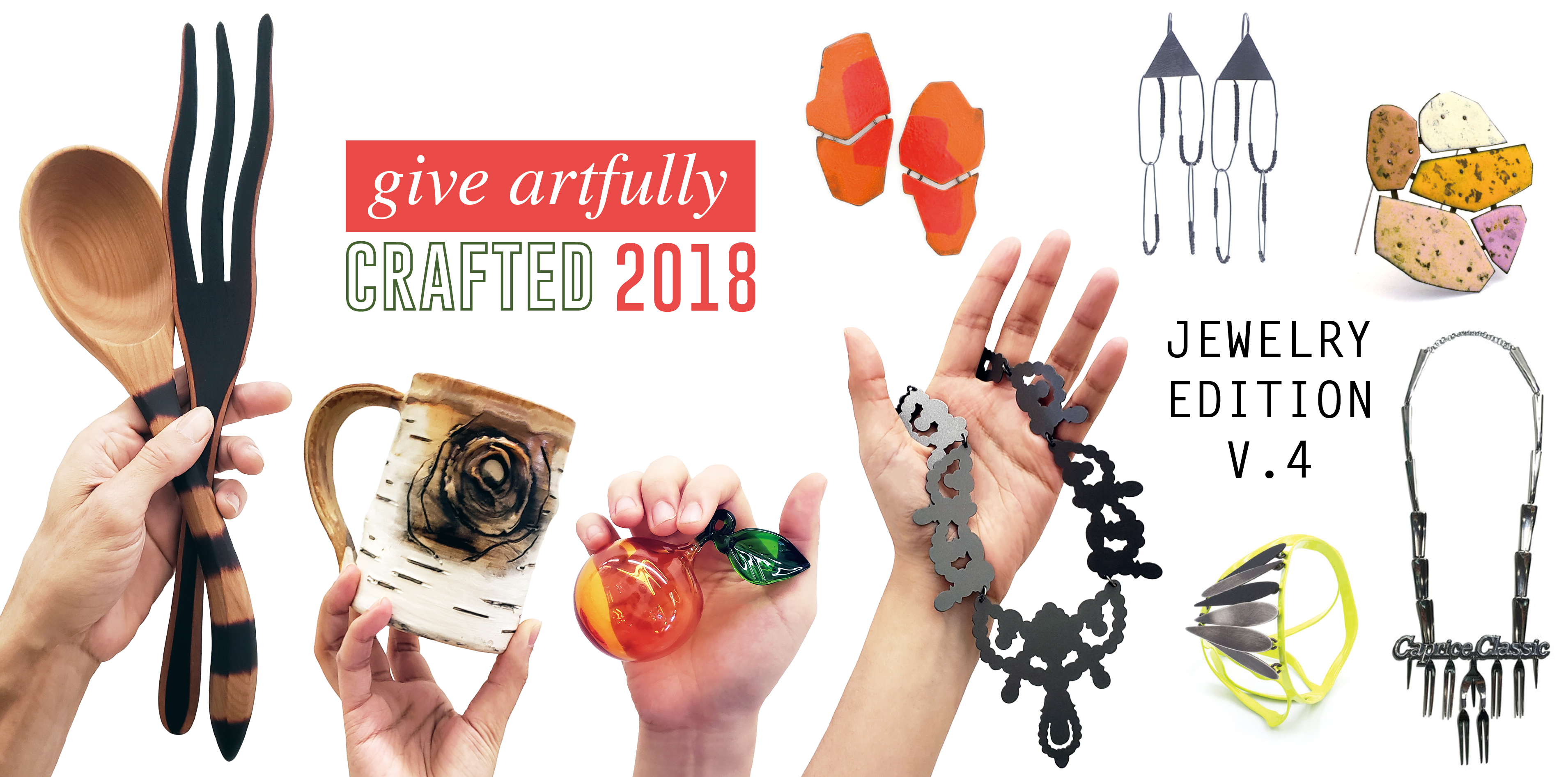 Give artfully this holiday with CRAFTED and JEWELRY EDITION!