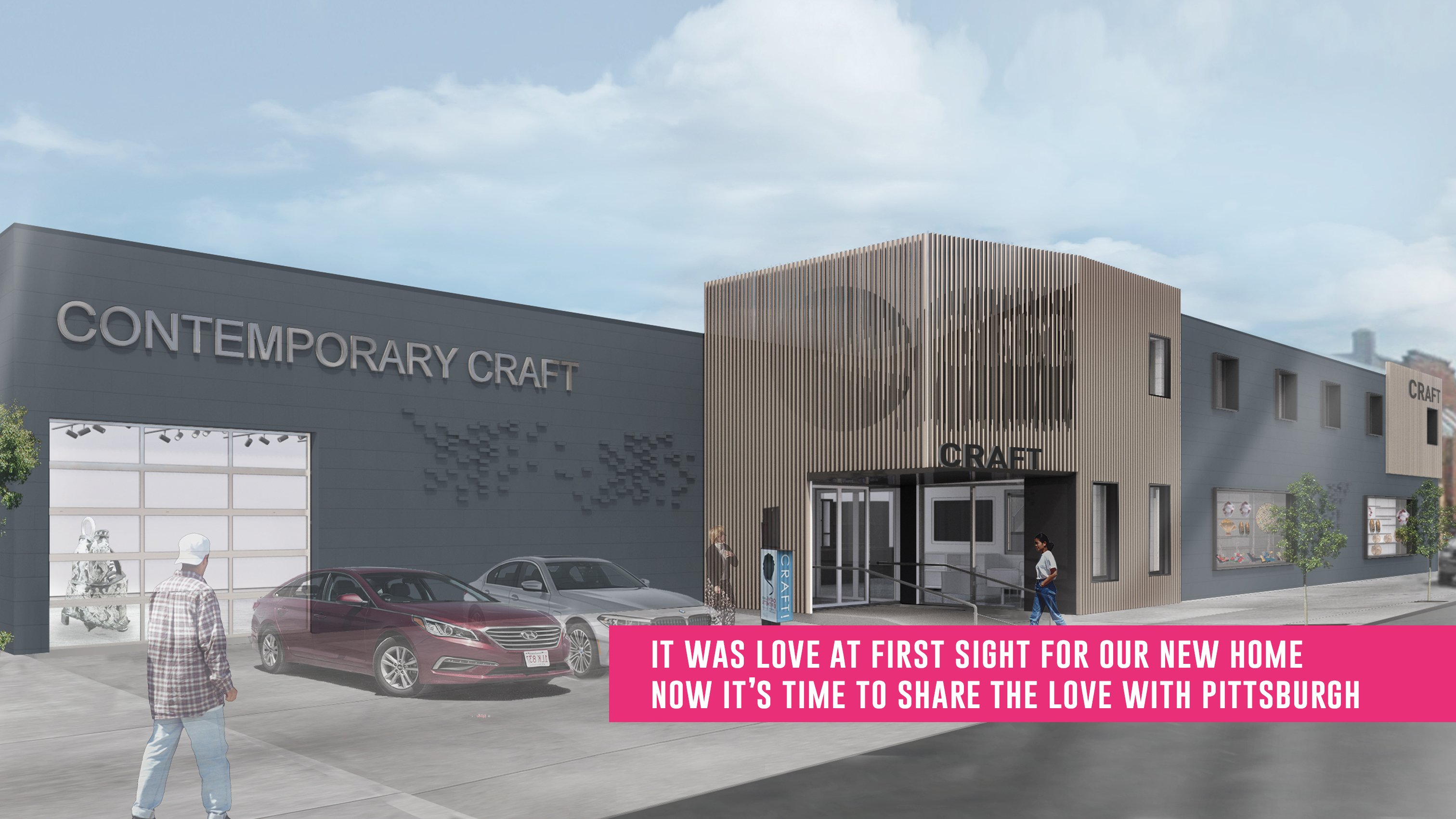 Contemporary Craft's new home