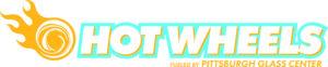 Pittsburgh Glass Center Hot Wheels logo