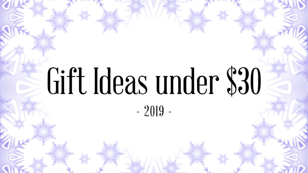 Gift Ideas under 30 USD