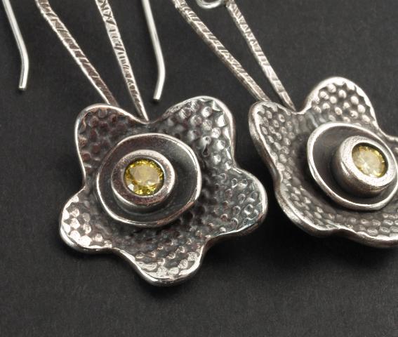 Donna Penoyer PMC earrings