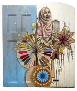 Swoon's work Maram