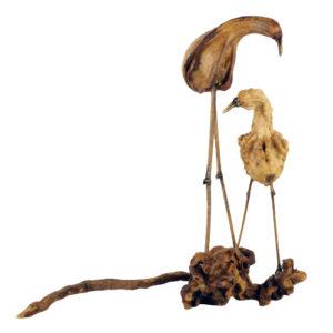 David Sengal's Gourd Birds sculpture.