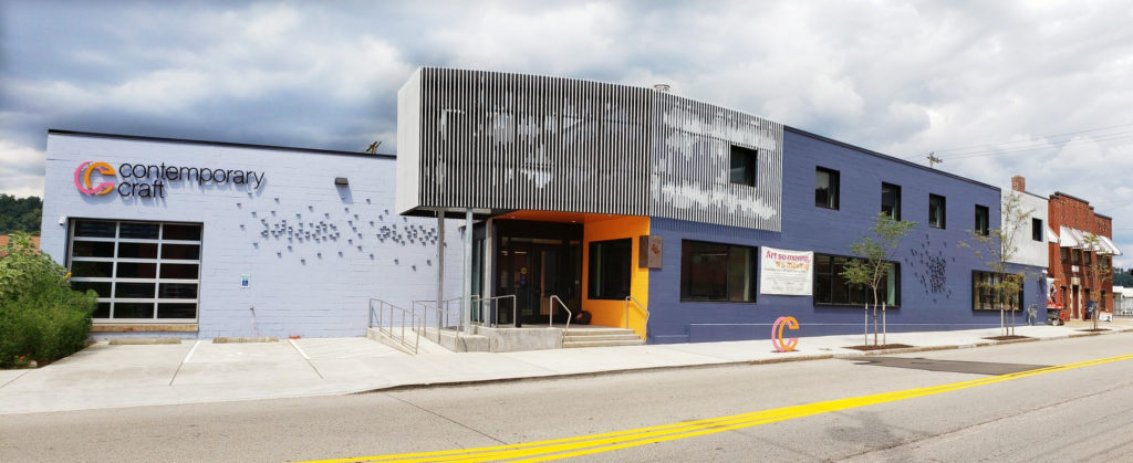 Contemporary Crafts Lawrenceville building in 2020